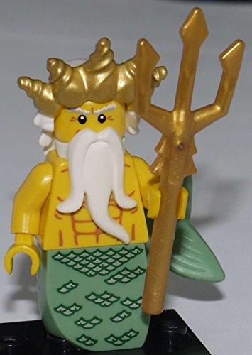 Lego 8831 - Minifigur Poseidon / Ocean King aus Sammelfiguren-Serie 7