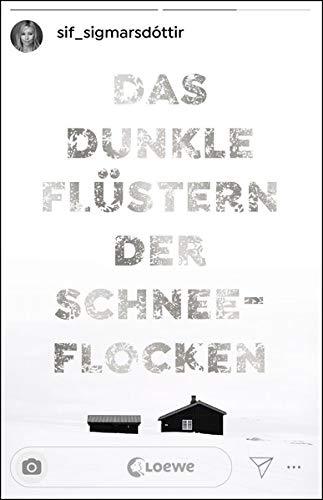 Buchseite und Rezensionen zu 'Das dunkle Flüstern der Schneeflocken' von  Loewe Jugendbücher