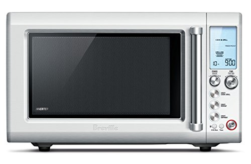 The Breville Quick Touch Crisp Countertop Microwave (BMO700BSS)