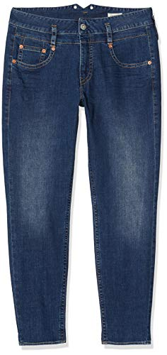 Prachtige dames Pitch Mom Denim Stretch Slim Jeans