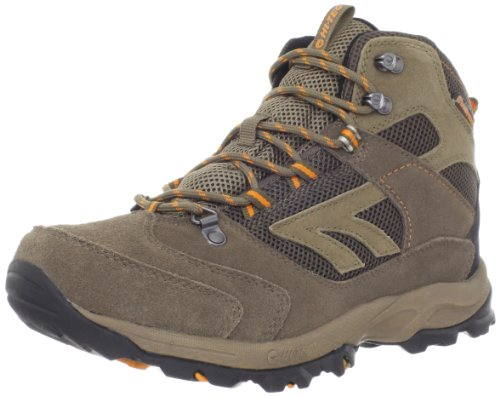 Hot Sale Hi-Tec Men's Flagstaff WP Hiking Boot,Brown/Clementine,14 M US