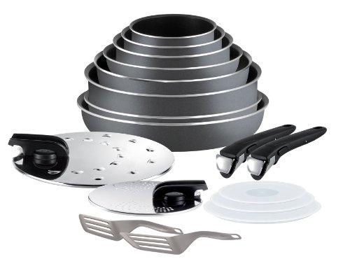 Tefal L0289702 Ingenio 5 - Set de cocina de 17...