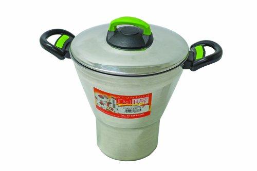 Pentola per cous cous in alluminio Dry,2,9 litri.