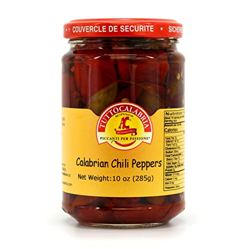 Whole Calabrian Chili Peppers 10.2 OZ by TUTTOCALABRIA