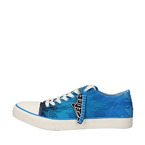 Bikkembergs B4BKM0120 - Zapatillas para hombre, color azul mixto (FEDEZ) Size: 42 EU