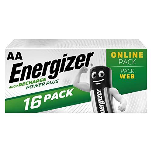 Energizer - Pilas Recargables 16 Unidades