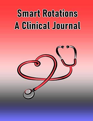 Smart Rotation Clinical Journal (Red/Light Blue)
