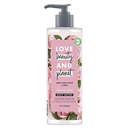 Love Beauty and Planet - Lozione idratante vegana, 400 mL