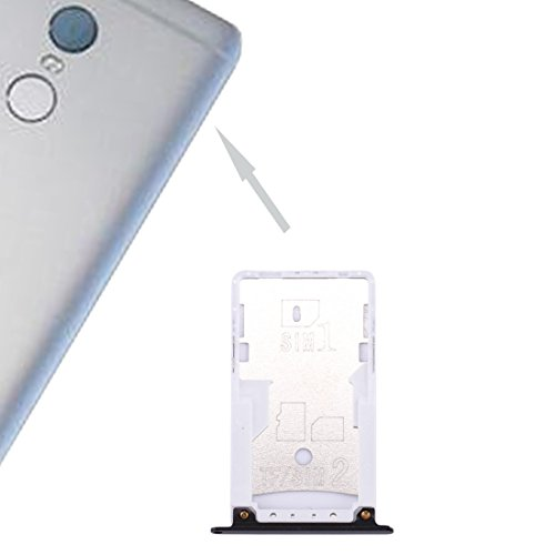 LIJUNGUO Xiaomi Redmi Note 4 SIM y SIM/TF Bandeja For Tarjetas (Color : Black)
