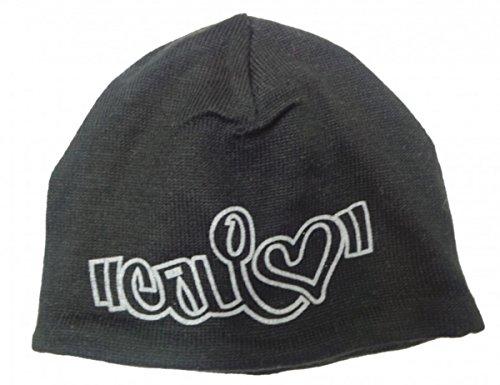 MySkateBrand California Love Cali Love Beanie Mütze Black, Cap Size:One Size