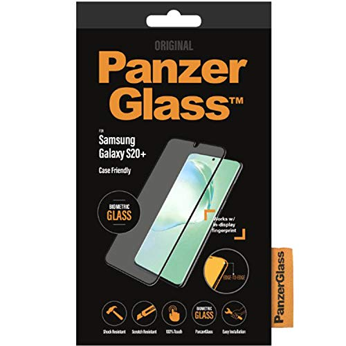 PanzerGlass 7223 Displayschutzfolie für Handy/Smartphone Samsung 1 Stück 7223, Displayschutzfolie, Handy, Smartphone, Samsung, Galaxy S20+, widerstandsfähig gegen