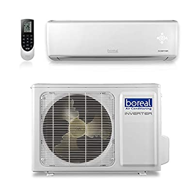 boreal 12,000 BTU 22 SEER Equinox Wall Mount Ductless Mini Split Air Conditioner Heat Pump 208/230V