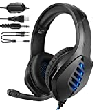 YJY J1 Gaming Headset for PS4, PC, Xbox One Controller, Nintendo Switch, iPad,Mac