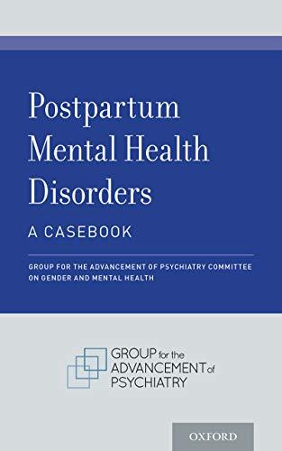 41uw0fiwiTL - Postpartum Mental Health Disorders: A Casebook