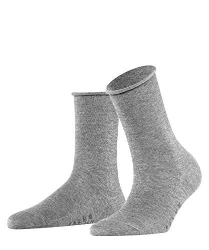 FALKE Damen Socken Active Breeze, Lyocellmischung, 1 Paar, Grau (Light Grey Melange 3216), 39-42