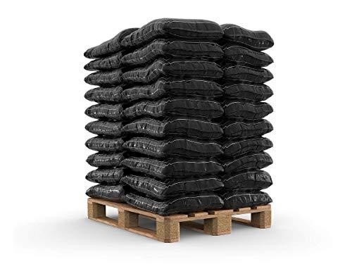 150-1200 kg Steinkohle Extrazit Union im 25kg Sack Union Kohle Briketts Kissenbriketts Nusskohle Gluthalter Eierbriketts (250)