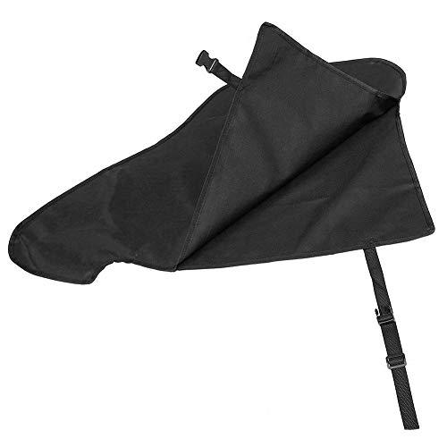 Eternitry wasserdichte Abdeckung für Wohnwagen, PVC-Anhänger Touring Car Connector Schutzabdeckung, mit Schnallenriemen (schwarz)