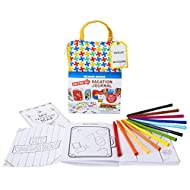 Kid Made Modern Kids Outdoor Activities On-The-Go Vacation Journal Kit - Travel Coloring Book for Kids, Ages 5 and Up