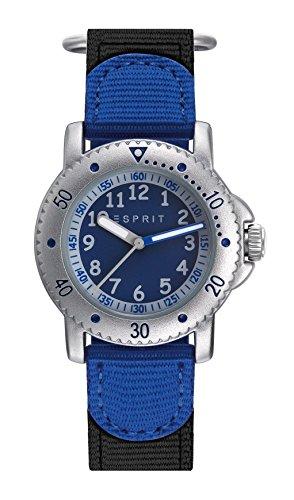 Esprit Jungen Analog Quarz Uhr mit Nylon Armband ES906694001