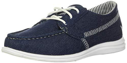 Brunswick Karma Denim Women's Bowling Shoes, Denim, 11