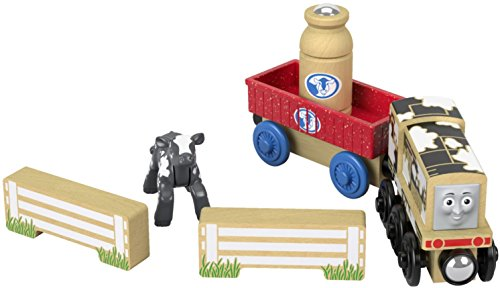 Fisher-Price Thomas & Friends Wood, Diesel's Dairy Drop-off