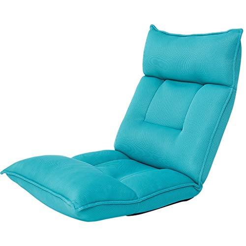 Bodensofa RENJUN Multifunktionale Rückenlehnenstütze Verstellbare Stühle for Erwachsene Und Kinder Ideal Zum Nachdenken Lesen Spiel 80 Kg Grün 117 × 54 × 15 cm