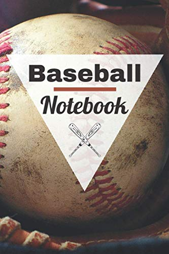 Baseball Notebook: Notebook to fill in | Baseball writing notebook | 100 lined pages | Notebook gift for baseball lovers | Paperback 6x9 inches