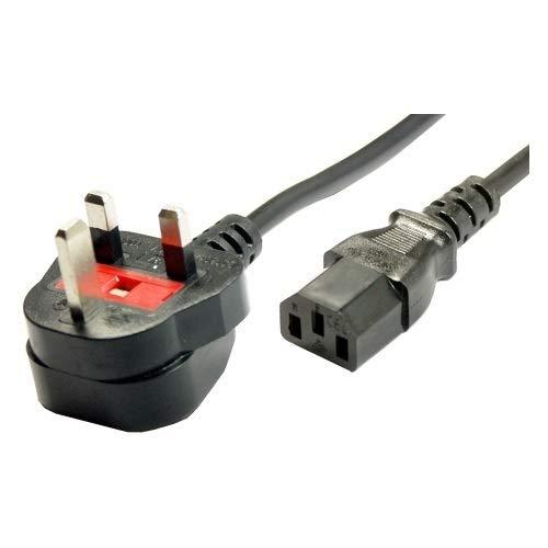 CARGADOR ESP  Cable de Alimentacion Luz Red Corriente SCHUKO Monitor Television Televisor Enchufe 3 Polos para UK Reino Unido Inglaterra Gran Bretaña Power Cable Light Network Kettle Lead