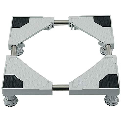 Multifunktionale Möbel Dolly Roller Base Verstellbarer Kühlschrankständer mit beweglicher Basis für Waschmaschine, Kühlschrank und Trockner (4 Fuß)