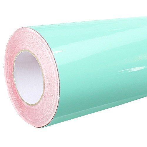 4,41€/m² Rapid Teck® Glanz Folie - 055 Mint - Klebefolie - 5m x 63cm - Plotterfolie - selbstklebende Folie - auch als Moebelfolie - Dekofolie