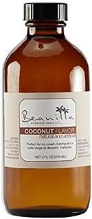 Natural Coconut Flavor - 8 fl oz
