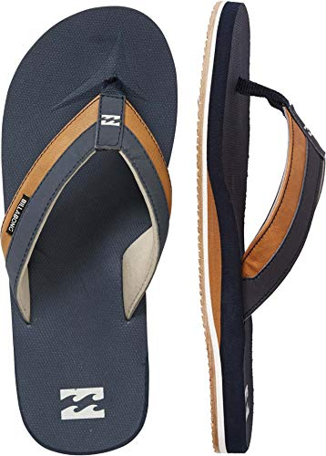 Billabong Men's All Day Impact Sandals Blue 9/42