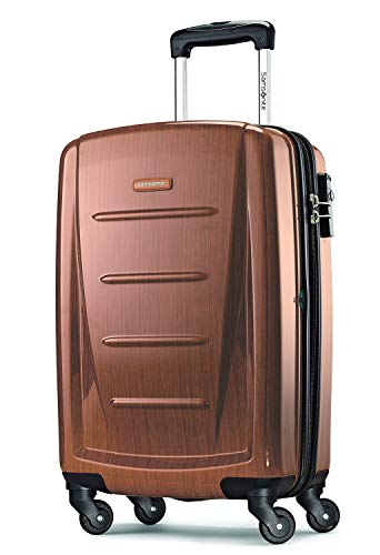 Samsonite Winfield 2 Hardside Expandable Luggage with Spinner Wheels, Rose Gold