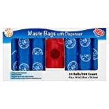 Pet All Star Waste Bags 360 Count With Dispenser