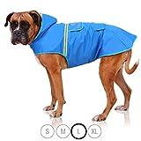 Bella & Balu Impermeabile Cane - Cappotto impermeabile per cani con cappuccio e catarifrangenti per...