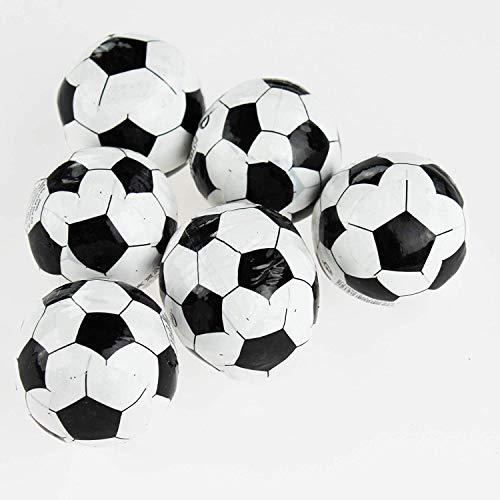Kamaca - Juego de 6 toallas mágicas de fútbol en pequeños balones de fútbol (100% algodón, juego de 6 unidades)