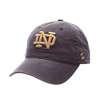 NCAA Zephyr Notre Dame Fighting Irish Mens Scholarship Relaxed Hat Adjustable Team Color