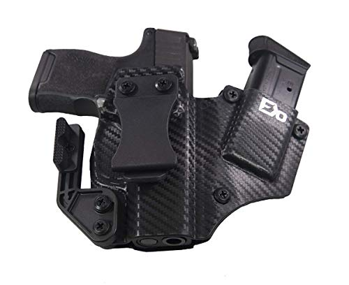 Fierce Defender IWB Kydex Holster Sig P365 1 Series W/Claw -Made in USA- (Carbon Fiber)