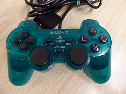 Sony Controller (green) [ Playstation 2 ] [Import anglais]