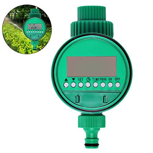 Hihey Automatischer elektronischer Wasserzähler Gartenbewässerungs-Countdown-Timer mit LCD-Anzeige