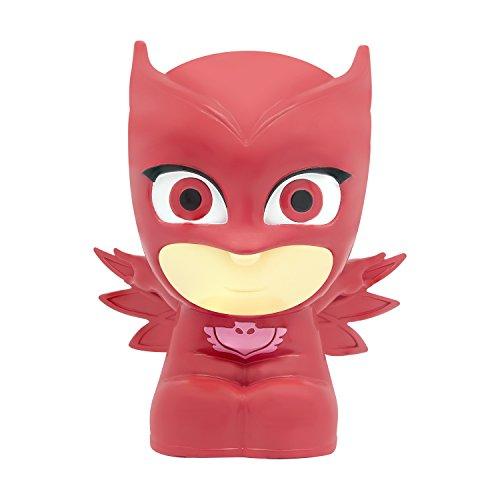 PJ Masks Soft Lite - Owelette - Soft and Portable Light-Up Toy and Nightlight