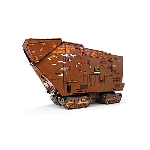 NIKRVE Bloques De Construcción Juguetes The Cavegod Ucs Sandcrawler Model Sets Ensamblar Ladrillos Niños Juguetes Educativos DIY