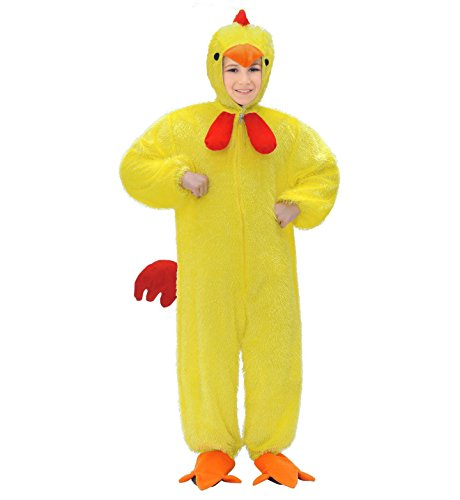 Widmann 9757h ? Costume de poulet, enfant Combinaison avec masque, Env. 134 cm