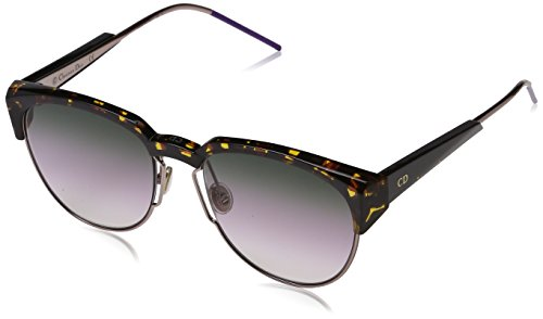 Dior DIORSPECTRAL SO 01K Gafas de sol, Rosa (Havana Ltpnk/Violet Sf Ar), 53 para Mujer