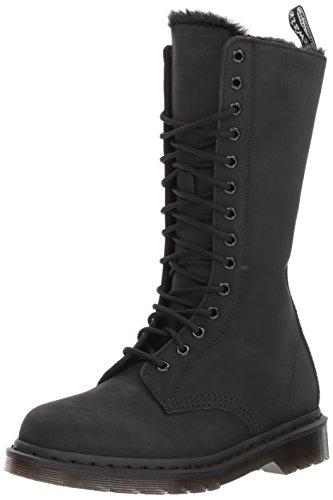 Dr. Martens Damen 1b99 FL Cascade Split Stiefel, Schwarz (Black), 40 EU
