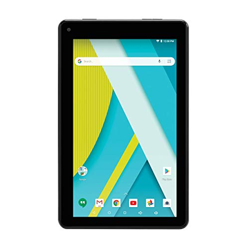 RCA (RCT6973W43MDN) 7' Voyager III Android Tablet - Dual Cameras and Google Play - (16GB, Black)