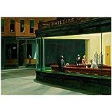 NRRTBWDHL Edward Hopper: NighthawksPoster Dekorative