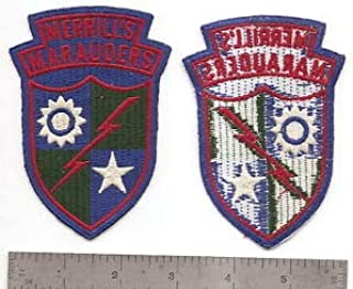 #003 US Army MERRILL'S Marauders Patch Type 1 by HighQ Store