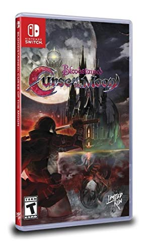 Bloodstained Curse of the Moon - Switch - Limited Run #031
