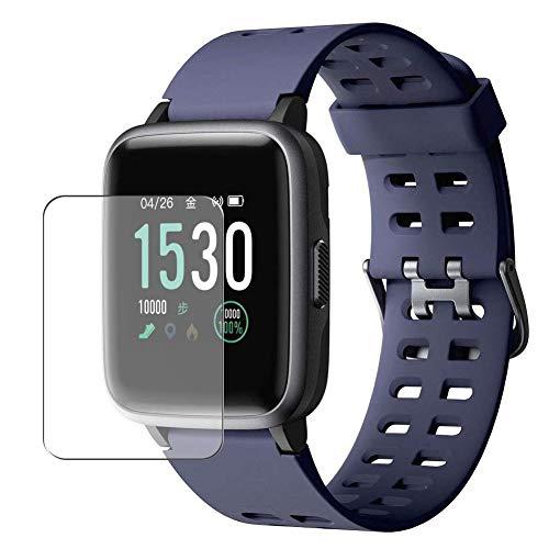 """Vaxson 3 Stück Schutzfolie, kompatibel mit Yamay 1.3"""" Smart watch Smartwatch SW020, Displayschutzfolie Bildschirmschutz Blasenfreies TPU Folie [nicht Panzerglas]"""
